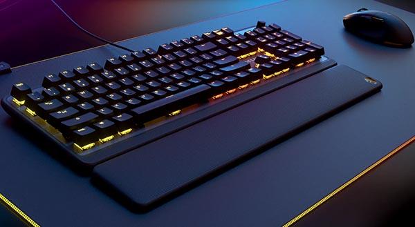 В клавиатуре Roccat Pyro установлены механические микропереключатели TTC