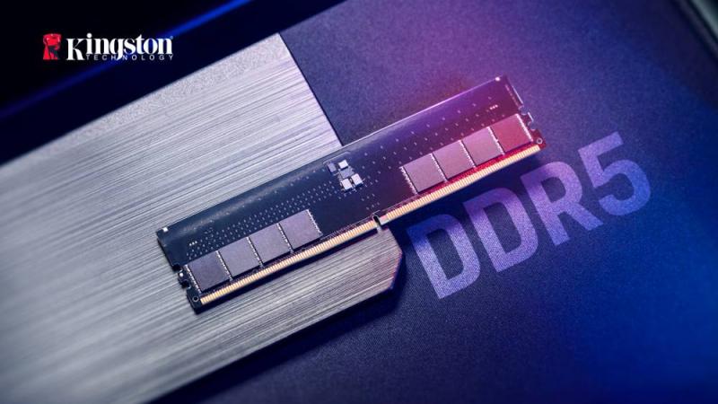 Релиз модулей памяти Kingston DDR5 с возможностью разгона намечен на конец текущего года