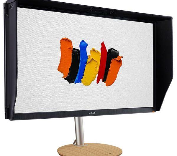 Монитор Acer ConceptD CP5271UV предназначен для работы с графикой и видео