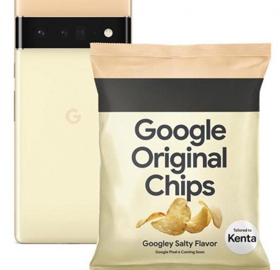 Google выпустила… чипсы