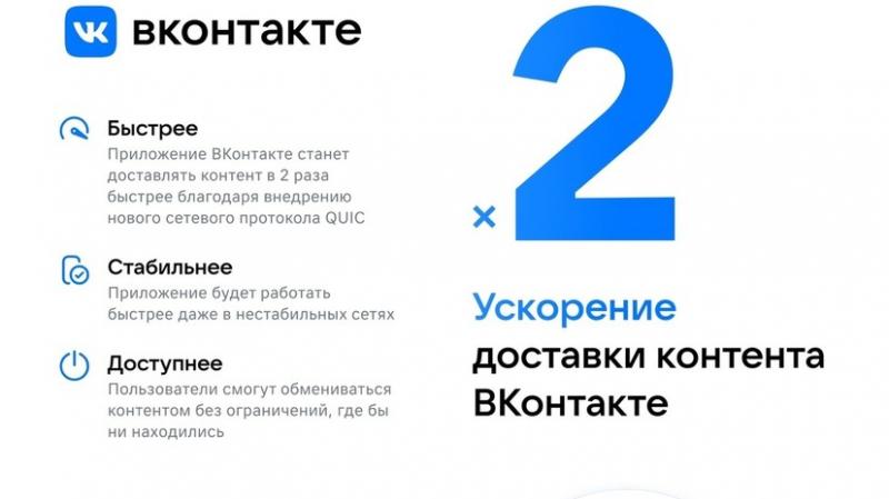 «ВКонтакте» ускорилась в два раза